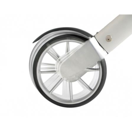 Lets Fly Rollator med baghjul der har affjedring og skærm