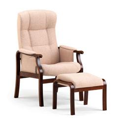 Sorø stol -Flot klassisk Look med mørk eg